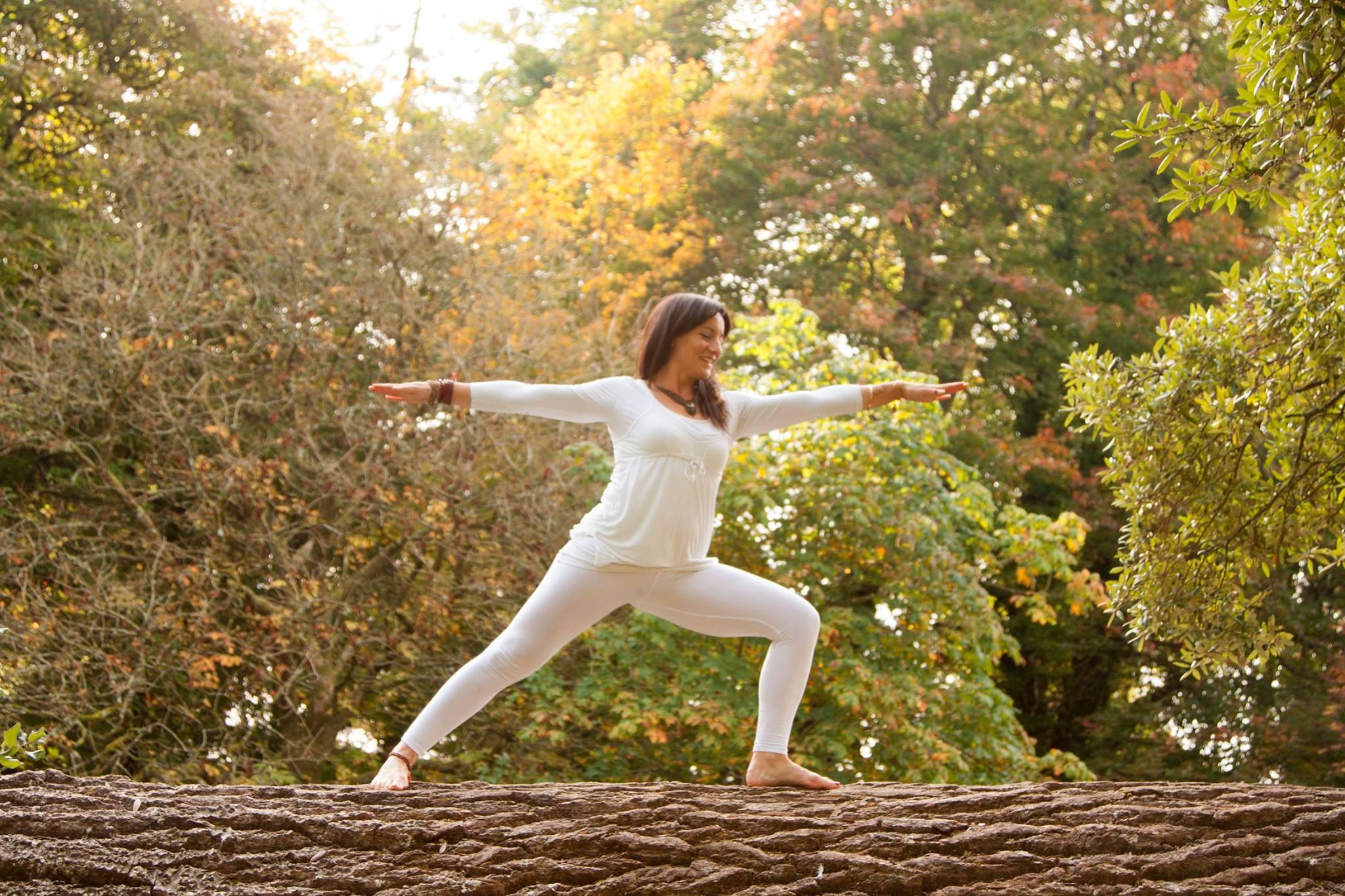 Healthy Ireland  In Borrisokane Library Tomorrow With Ana Alves Smyth Doing Yoga