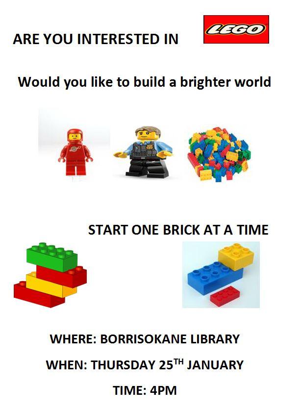 Lego Club In Borrisokane Library