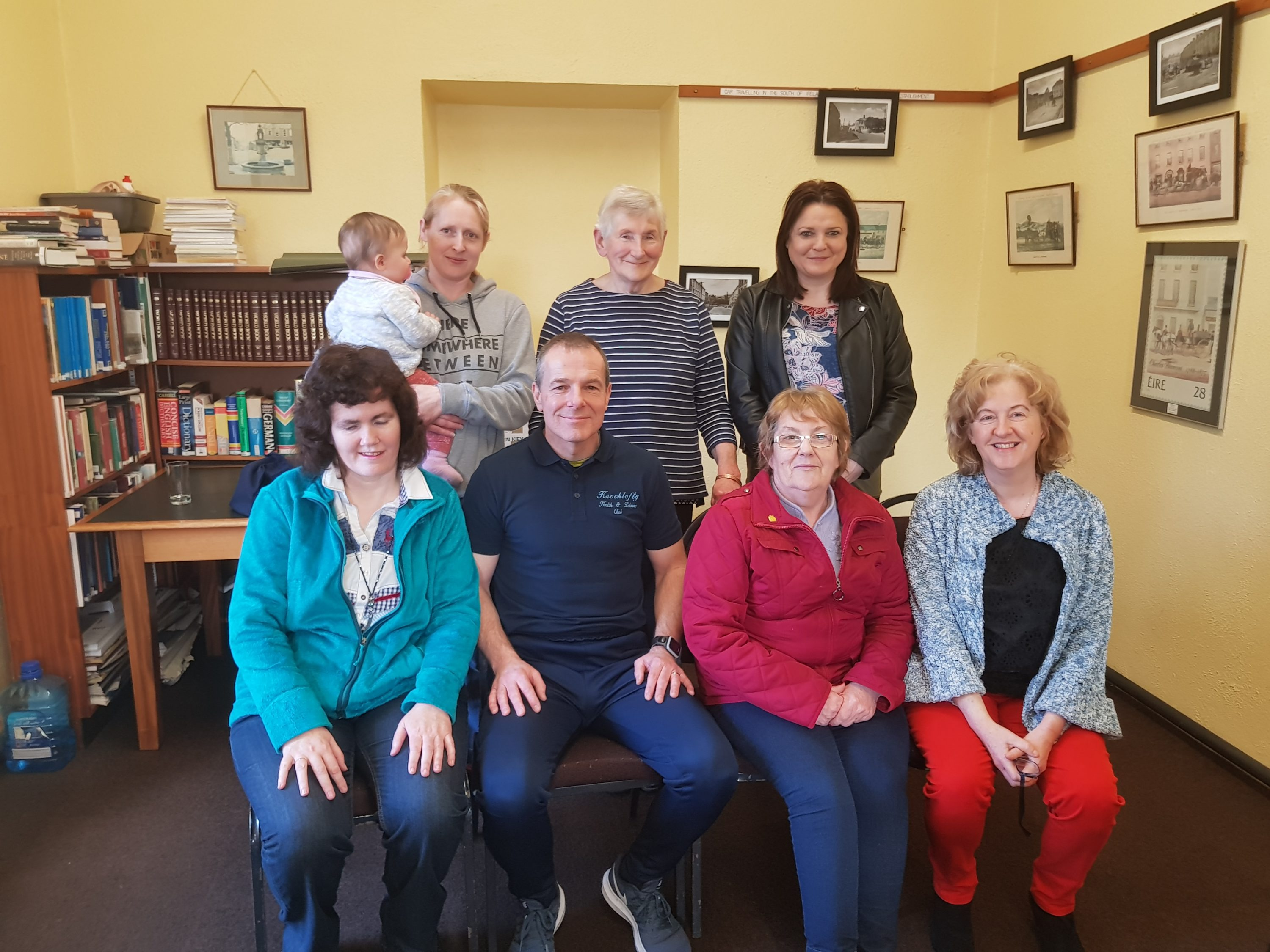 Fitness Talk In Cahir Library.