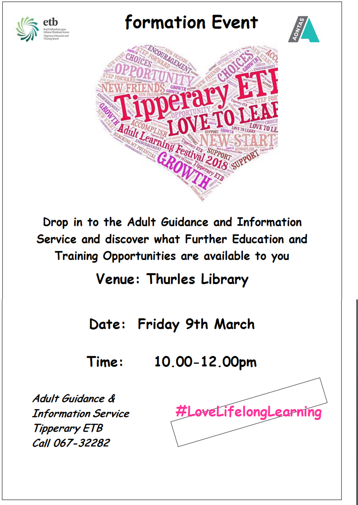 Thurles Library: ETB Information Session