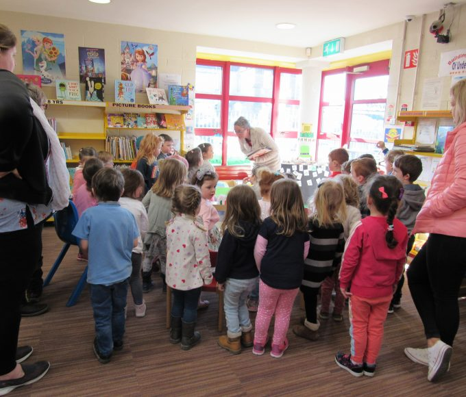 Caterpillars Childcare Visit Nenagh Library