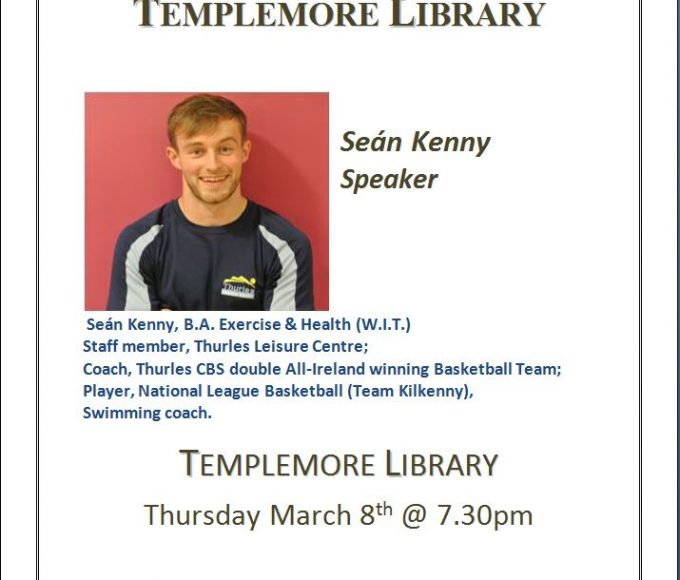 Exercise & Health Talk At Templemore Library