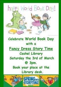 world book day storytime 2018