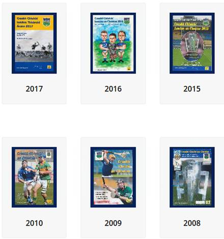 Digitisation Of GAA Match Programmes