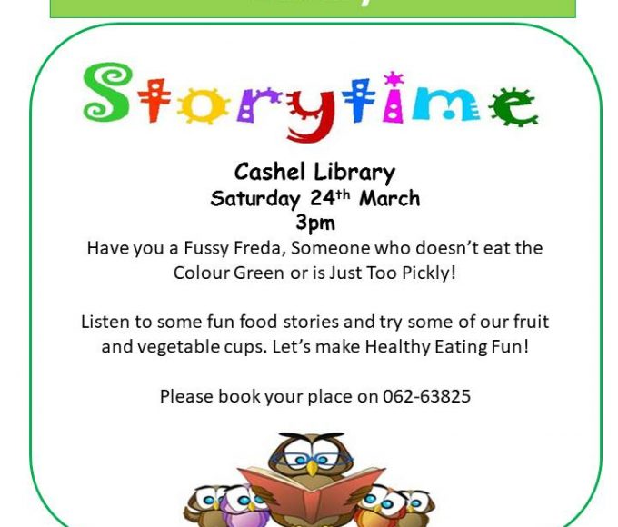 Healthy Ireland Storytime In Cashel Library