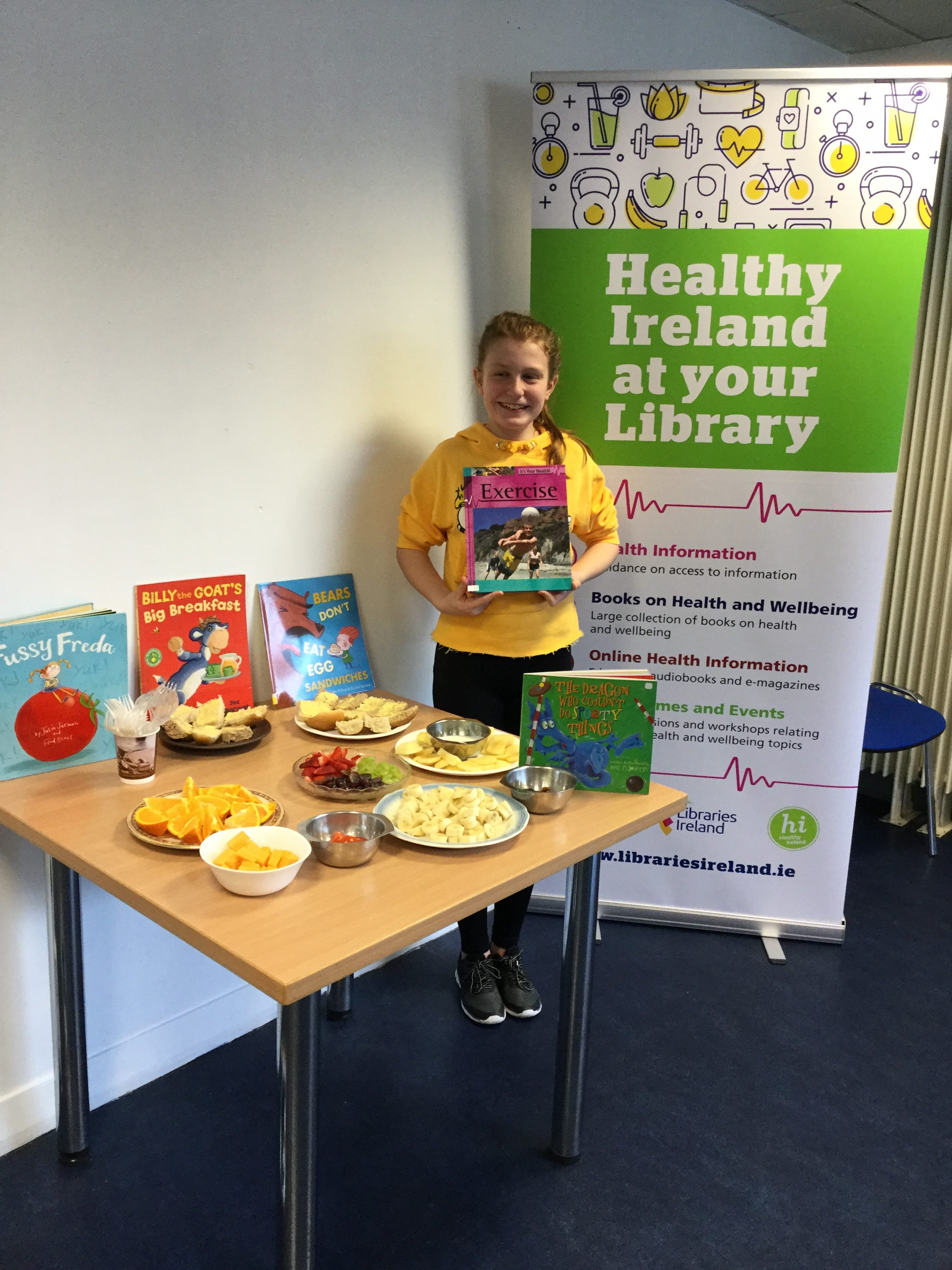 Healthy Ireland Story Time In Cashel Library