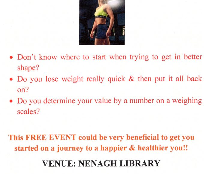 A Guide To Healthy & Sustainable Weight Loss In Nenagh Library