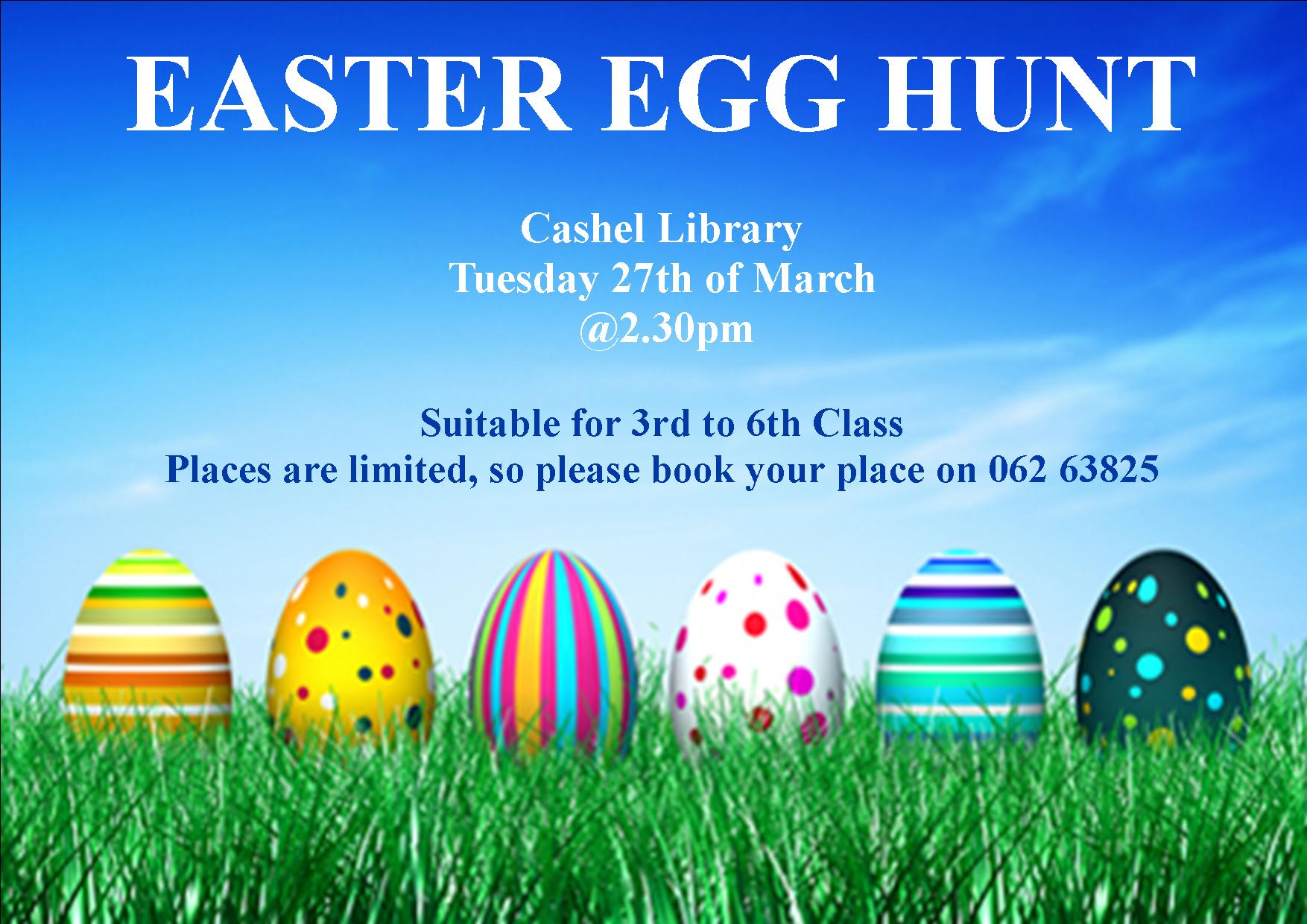 Easter Egg Hunt in Cashel Library