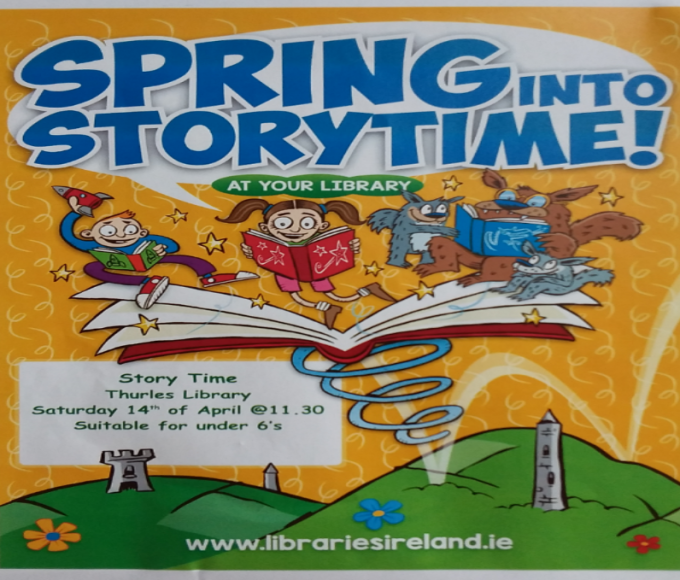 Spring Into Story-time Thurles Library