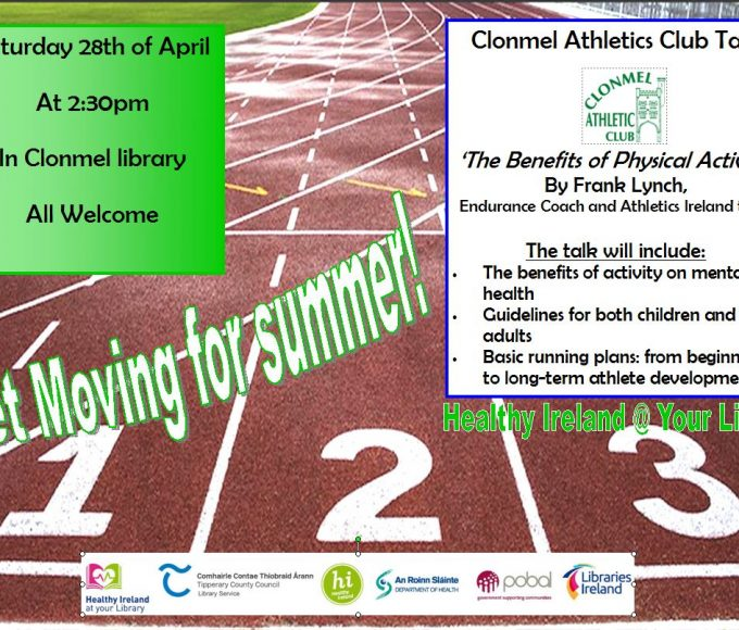 The Benefits Of Physical Activity By Frank Lynch At Clonmel Library