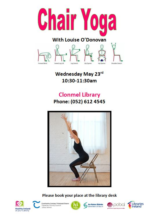 Chair Yoga At Clonmel Library