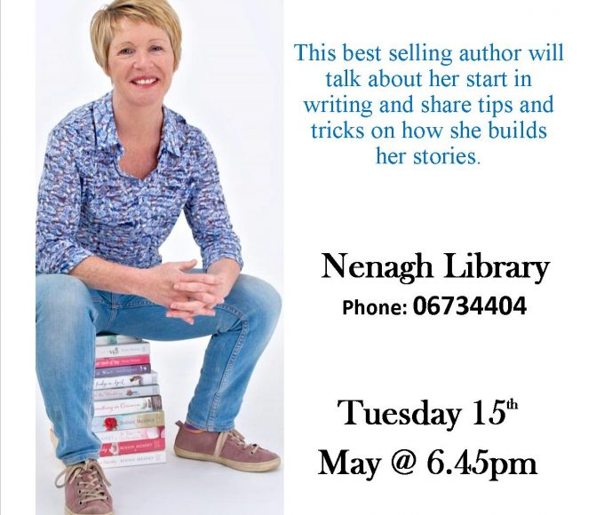 Meet Author Roisín Meaney In Nenagh Library: Bealtaine