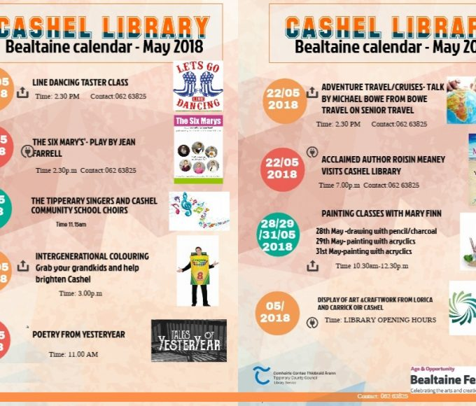 Bealtaine At Cashel Library