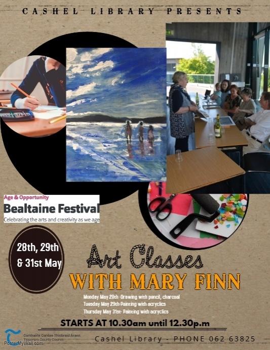 Cashel: Art Classes With Mary Finn