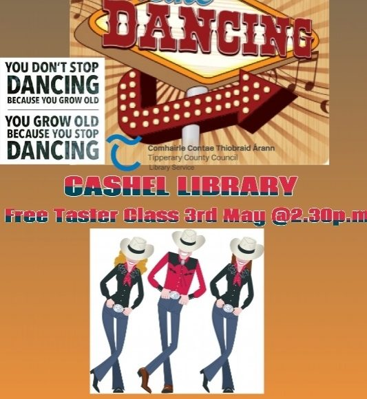 Line Dancing Taster Class In Cashel Library