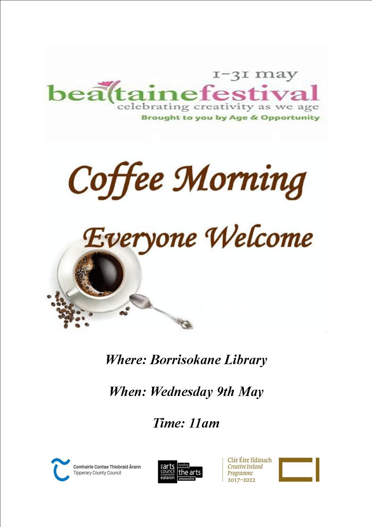 Coffee Morning In Borrisokane