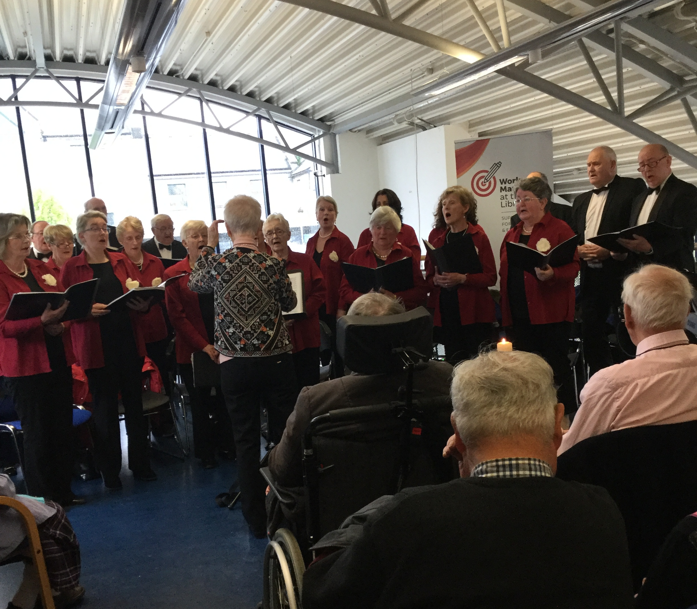"Tipperary Singers Including Nenagh Library's Mary McCormack: ""Ode To Joy"" In Cashel Library"