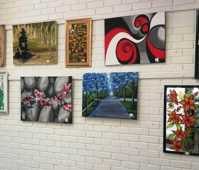 Exhibition In Roscrea Library By Ligi Joy