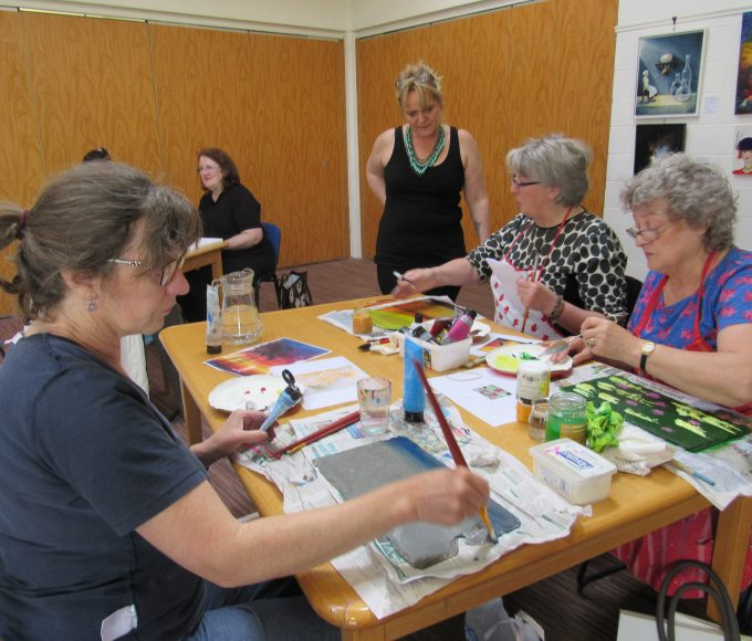 Nenagh Library Bealtaine Event:  Kerrie Acheson Art Workshop