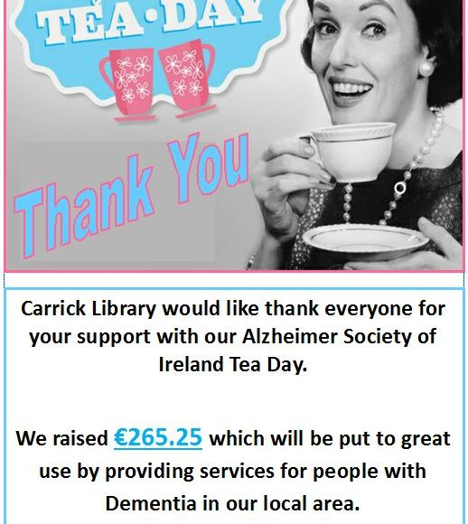 Thank You From Carrick Library