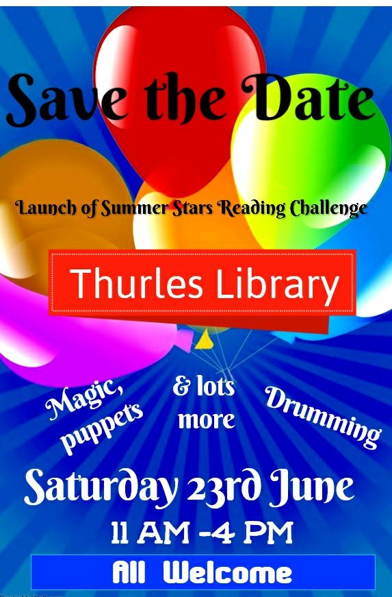Save The Date! Fun Day Coming Soon To Thurles Library