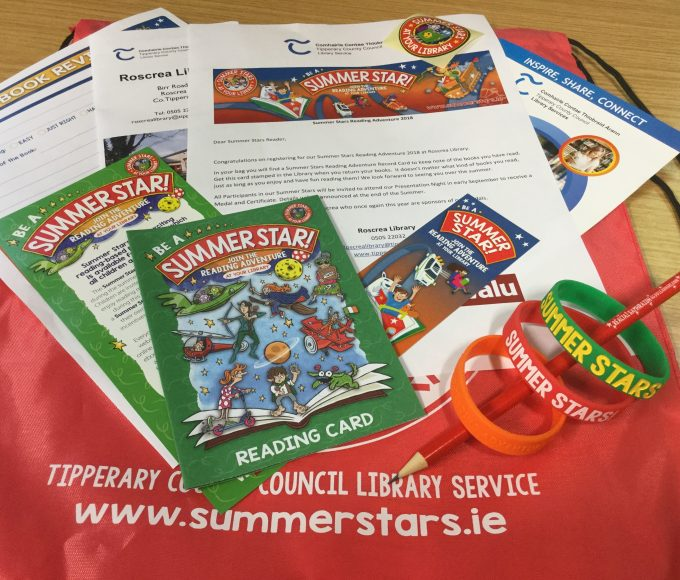 Summer Stars In Roscrea Library, Sign Up Today!