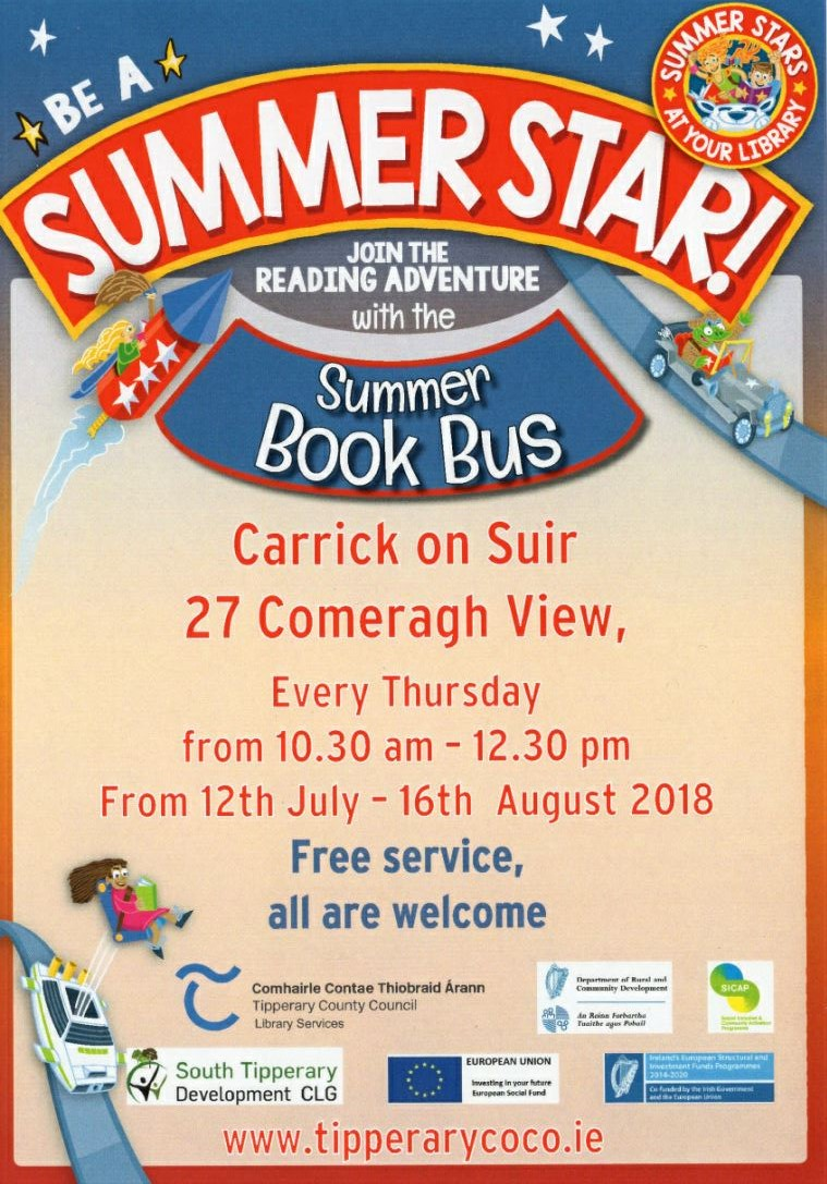 Bookbus In Carrick On Suir