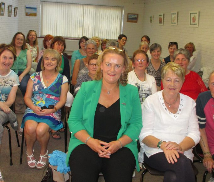 Author Olive Collins In Clonmel Library