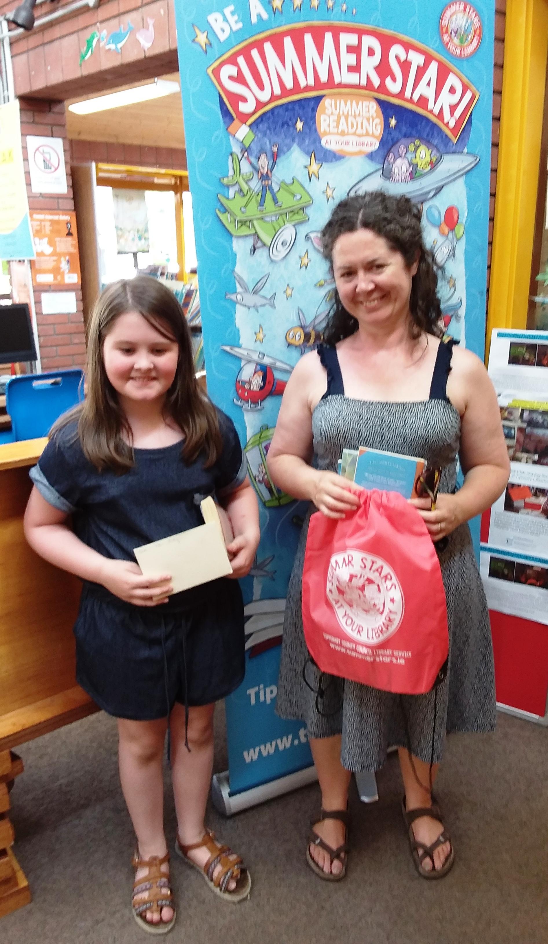 Clonmel Library Spot Prize Winner