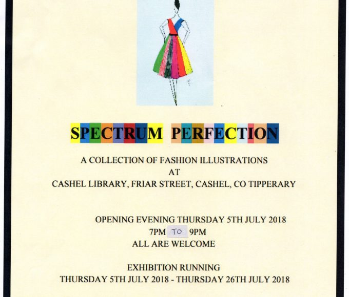 John Crochet Exhibition Launch In Cashel Library July 5th At 7pm; All Welcome!