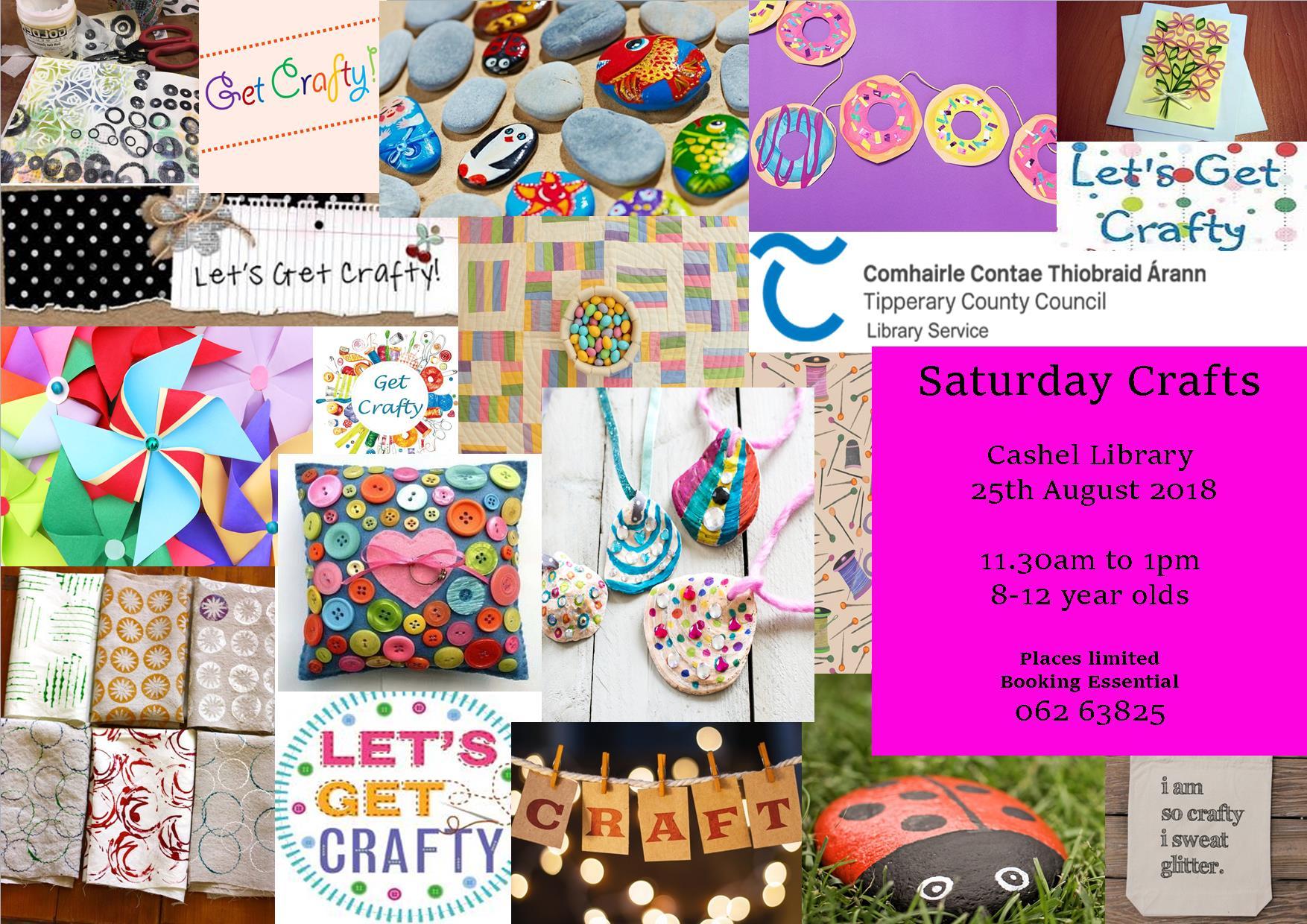 Craft Workshop In Cashel Library