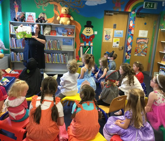 Fancy Dress Story Time In Cashel Library