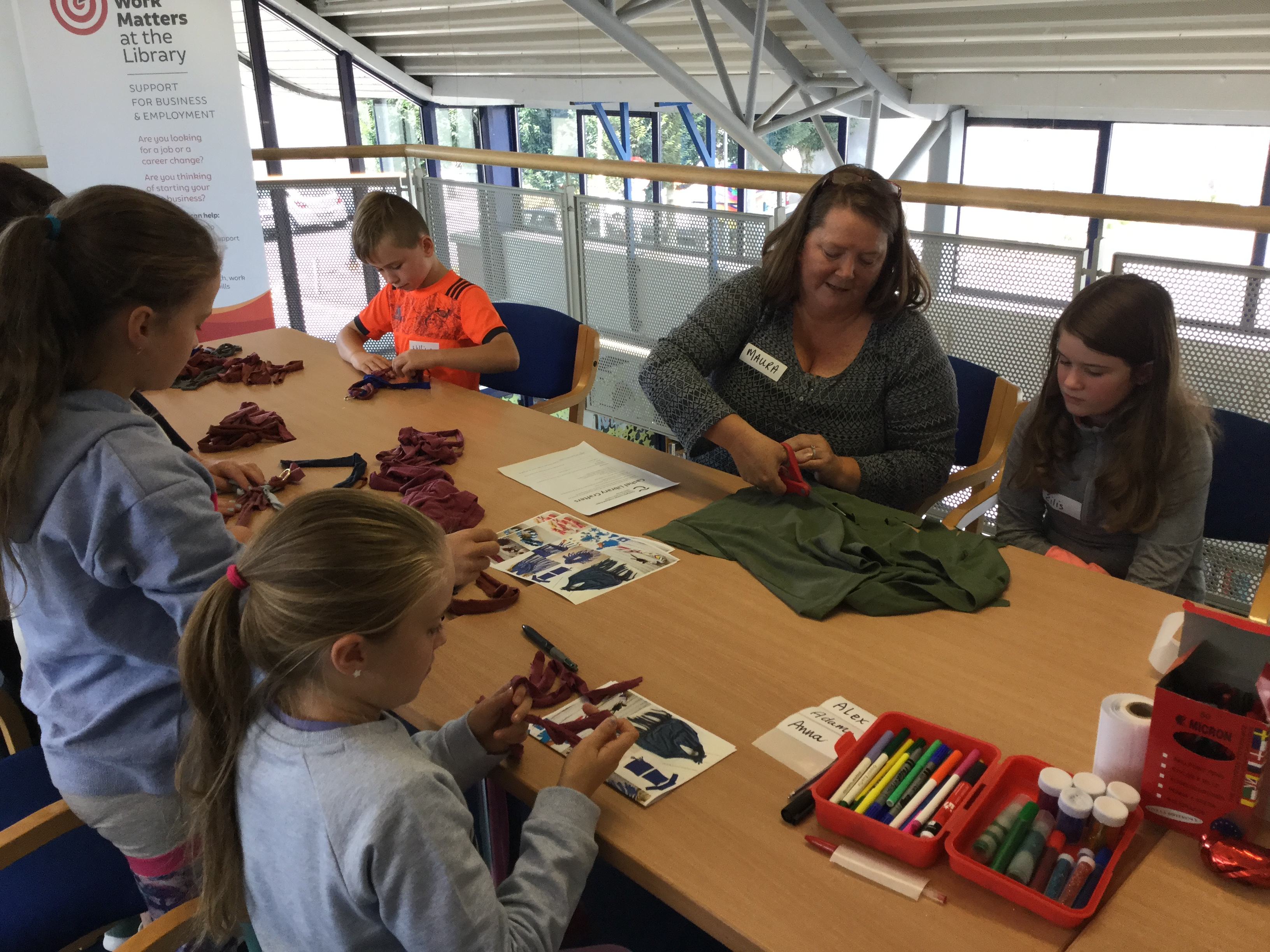 Cashel Kids Craft Club Tipperary Library Service