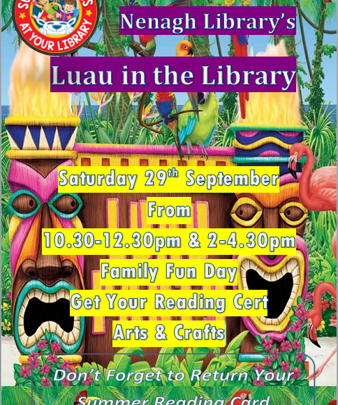 Luau In The Library: Nenagh