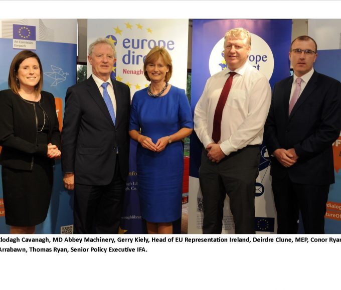 """Citizens Dialogue In Nenagh Library – 'Irish Food And Farming In A Changing Europe"""""""