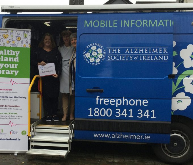 Alzheimer Information Unit Visits Cashel Library As Part Of Healthy Ireland