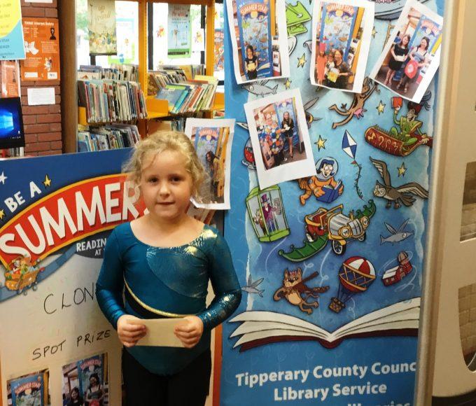 Clonmel Library Spot Price Winners