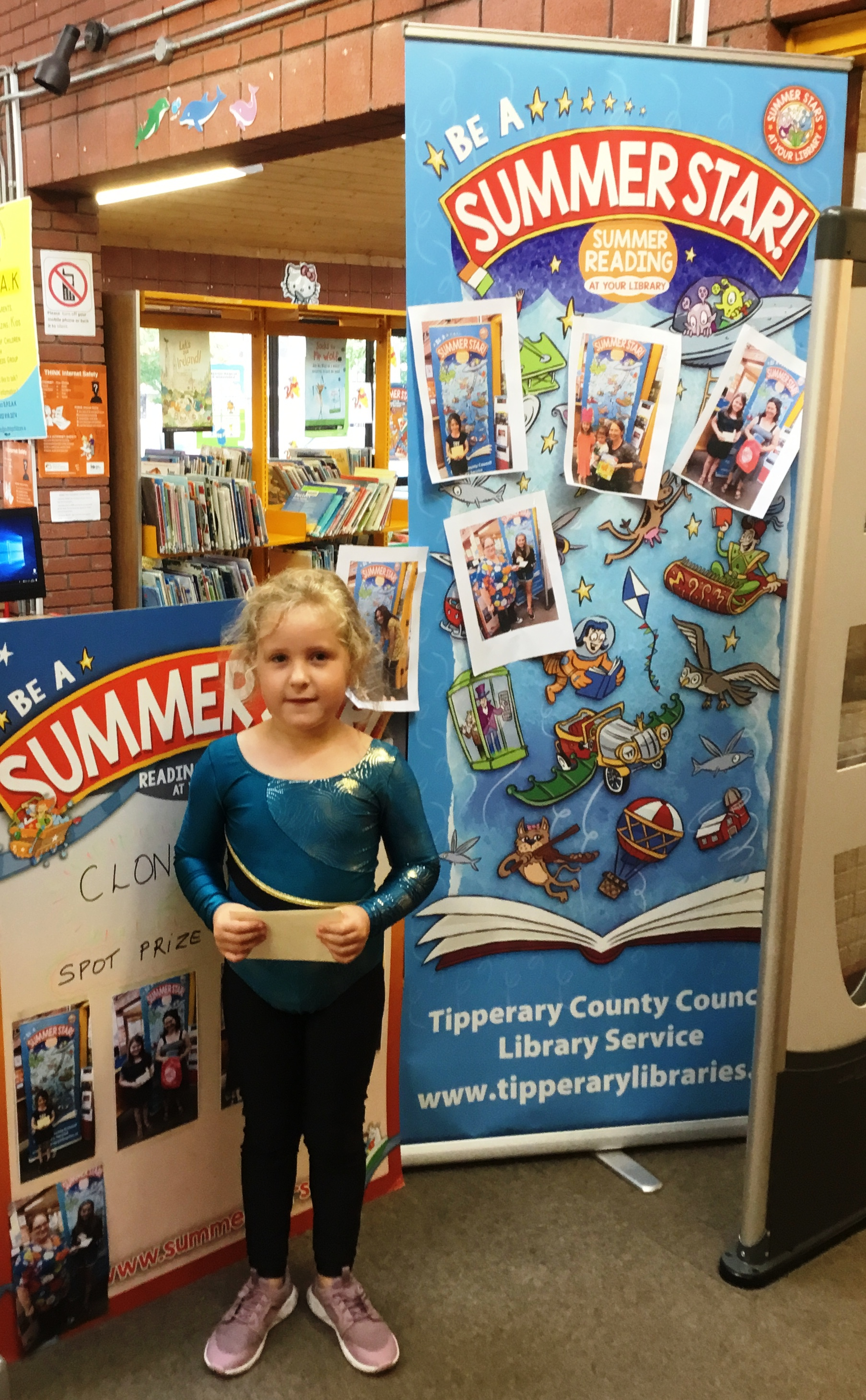 Clonmel Library Spot Price Winners