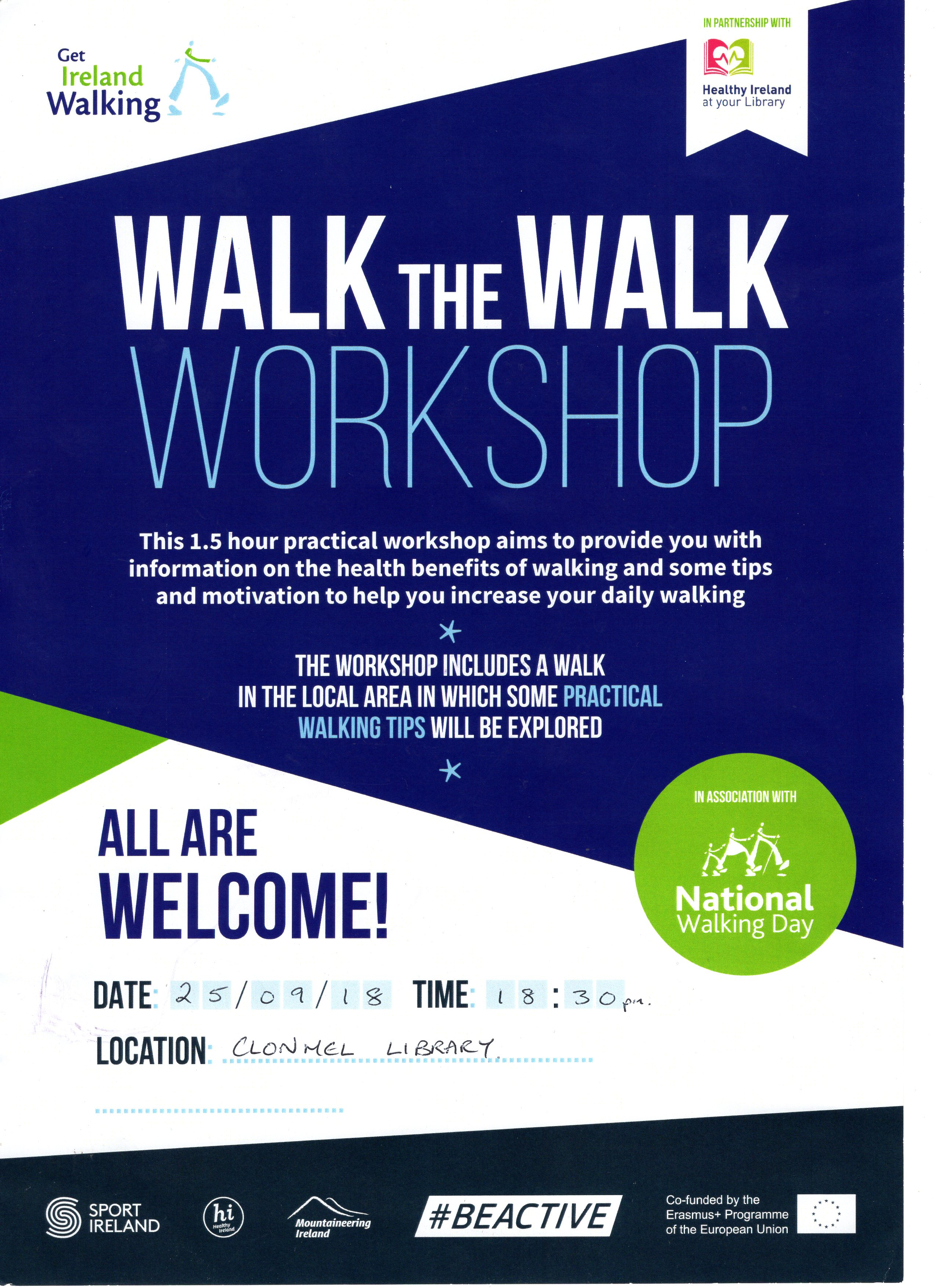 Walk the Walk Workshop