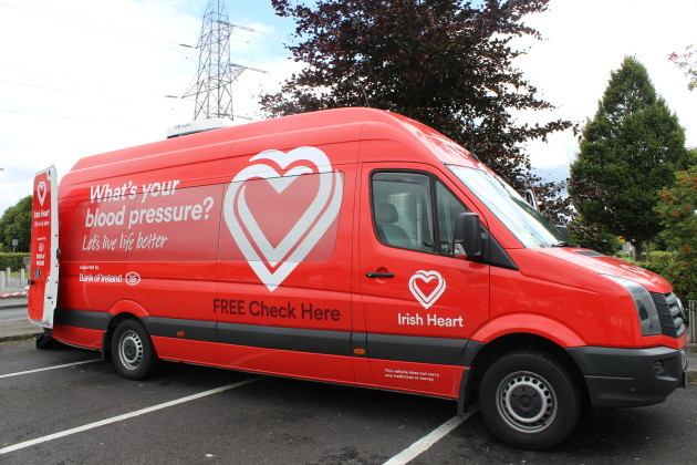 Cashel: Irish Heart Foundation Mobile Health Unit