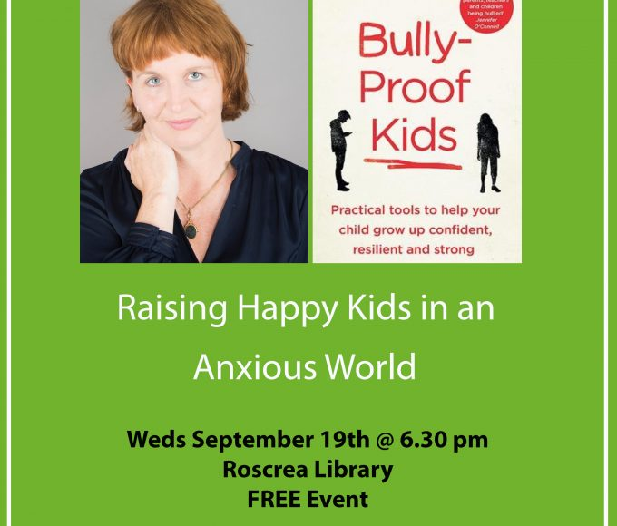 'Raising Happy Kids In An Anxious World'  A Talk With Stella O'Malley