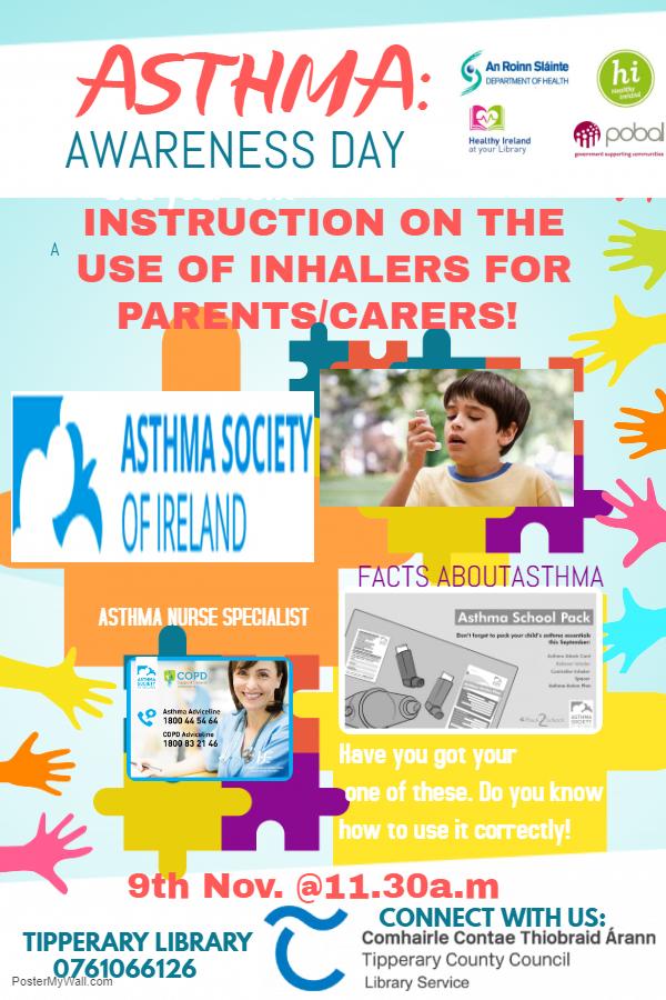 Cashel: Asthma Awareness Information Talk