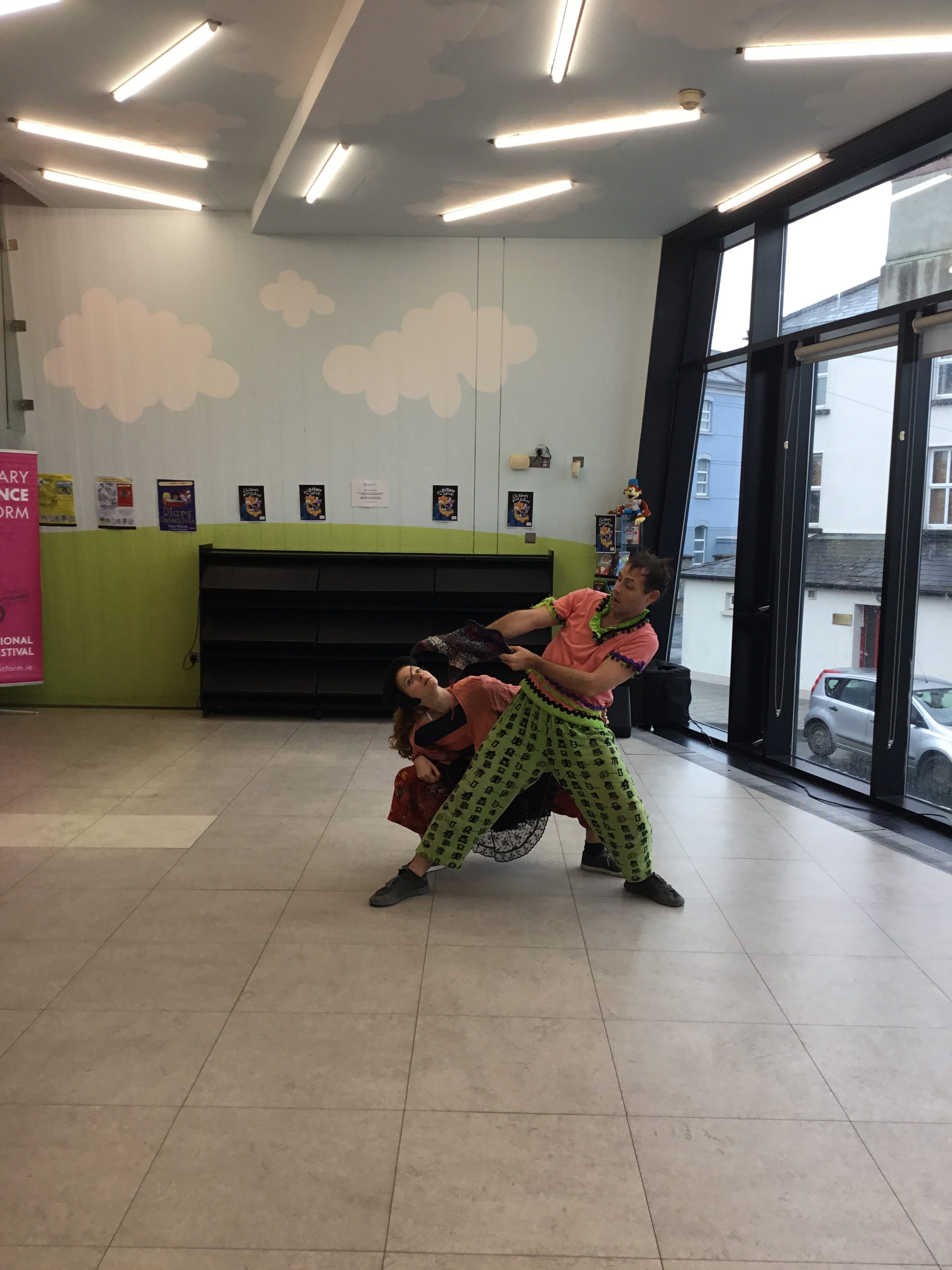 "Tipperary Dance Platform ""So You Say"" In Thurles Library"