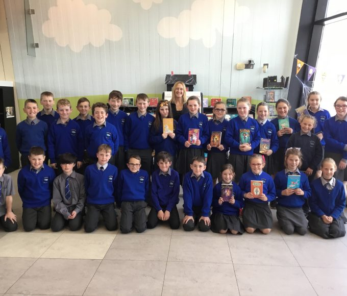 Linda Chapman Visits Thurles Library For CBF