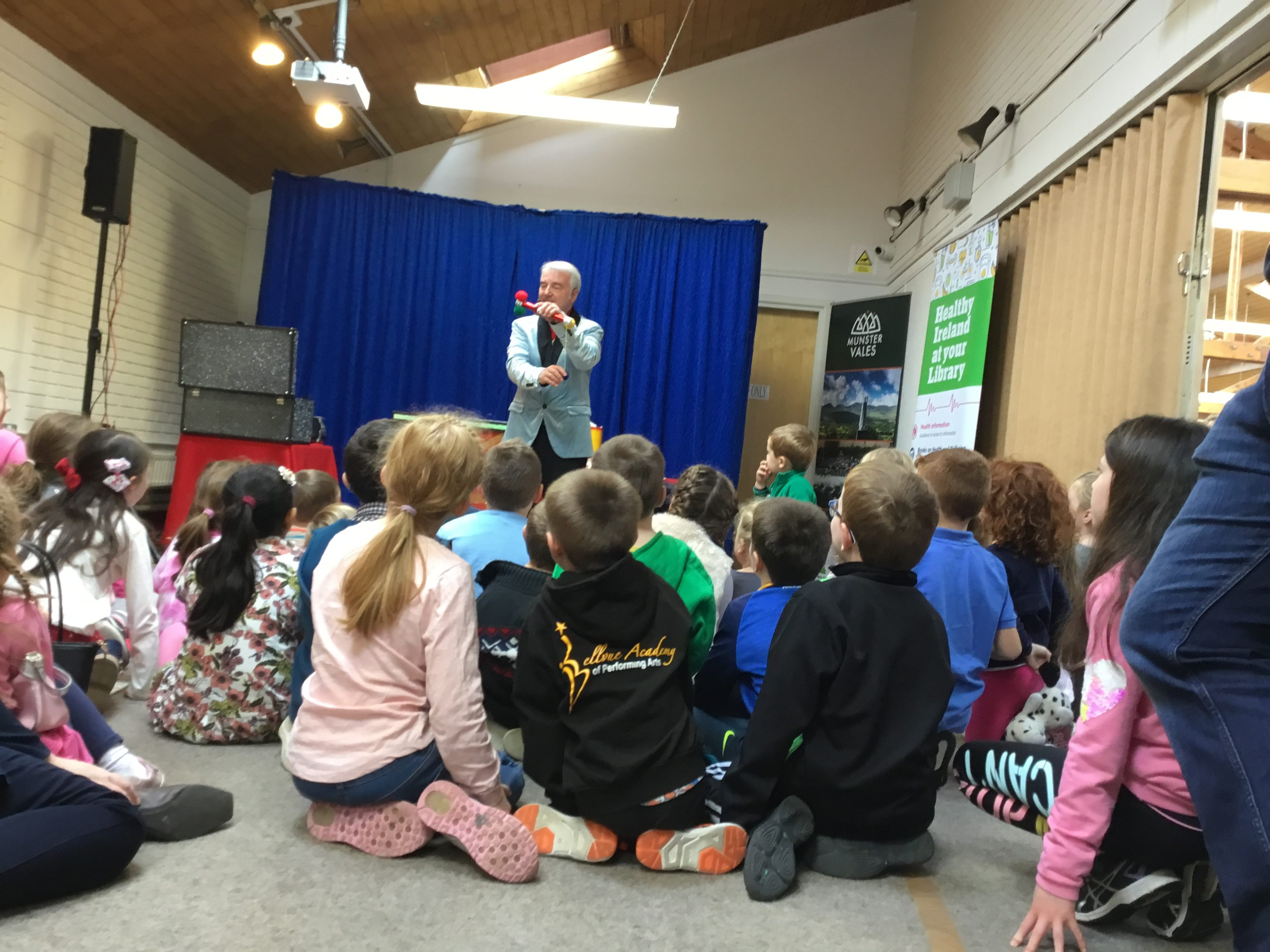 Summer Stars Reading Adventure Presentation at Clonmel Library