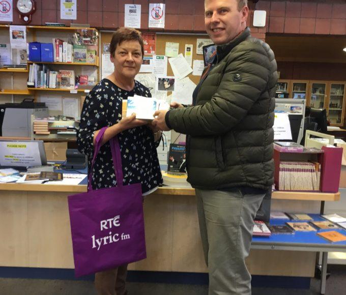 Lyric FM Donation To Clonmel Library