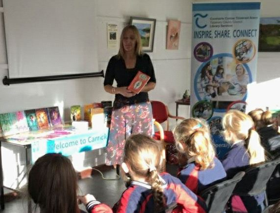 Carrick Library Author's Visit: Linda Chapman