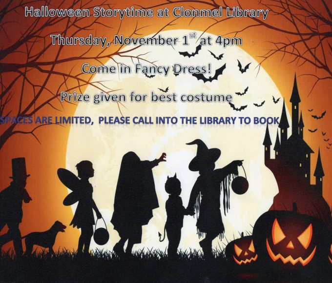 Halloween Story Time At Clonmel Library
