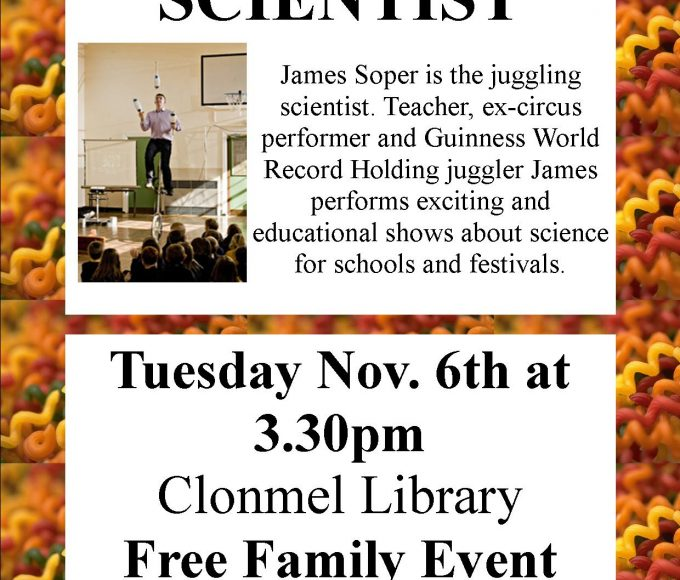 The Juggling Scientist At Clonmel Library