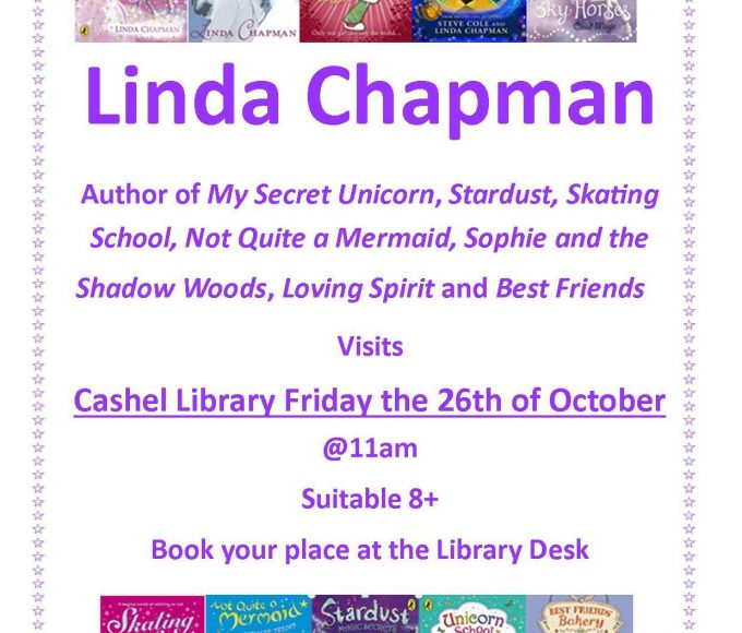 Cashel: Author Visit With Linda Chapman
